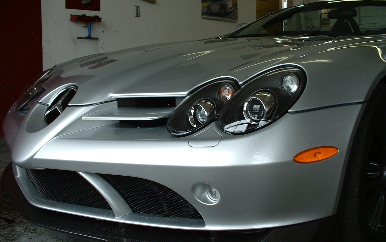 Paint protection film Mercedes