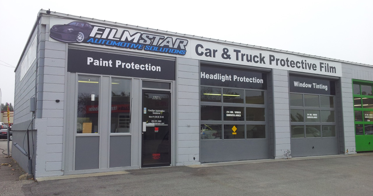 FimStar Automotive Solutions: Kelowna Paint Protection, Kelowna Window Tinting