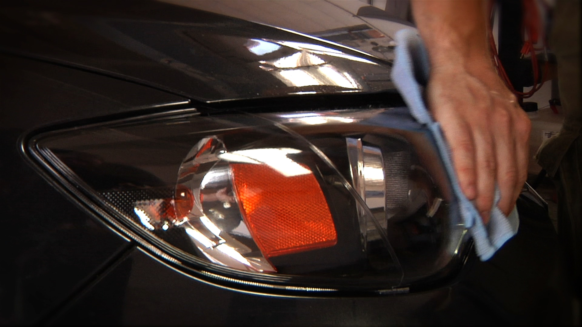 Clear headlight protection by FilmStar